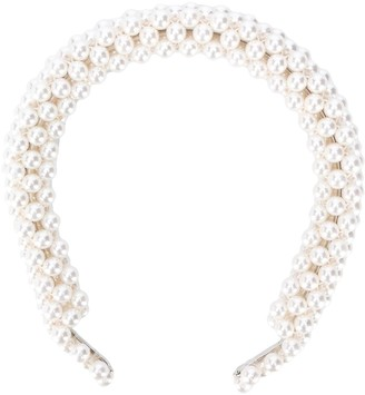 Shrimps Pearl-Embellished Headband