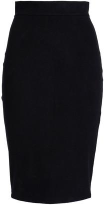 James Perse Brushed-felt Skirt