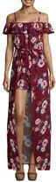 Secret Charm Sleeveless Floral Maxi Dress-Juniors