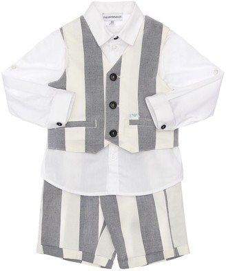 Emporio Armani Shirt, Vest & Pants Set