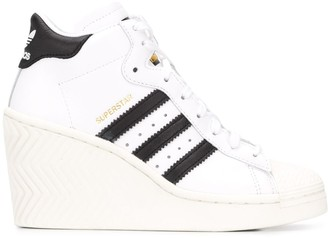 adidas Wedge Heel Trainers