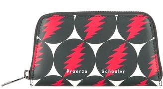 Proenza Schouler Grateful Dead Trapeze Zip Compact Wallet