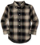 Ralph Lauren Boys 2-7 Plaid Shirt