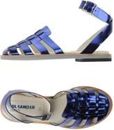 Jil Sander Navy Sandals - Item 11111628