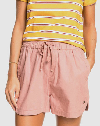Roxy Womens Lekeitio Playa Linen Shorts