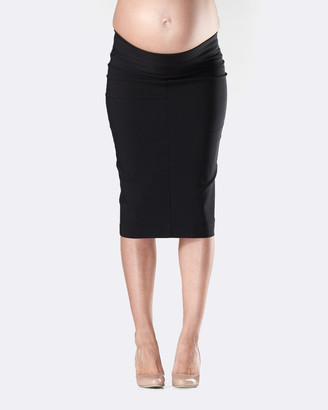 Soon Flora Fold Pencil Maternity Skirt