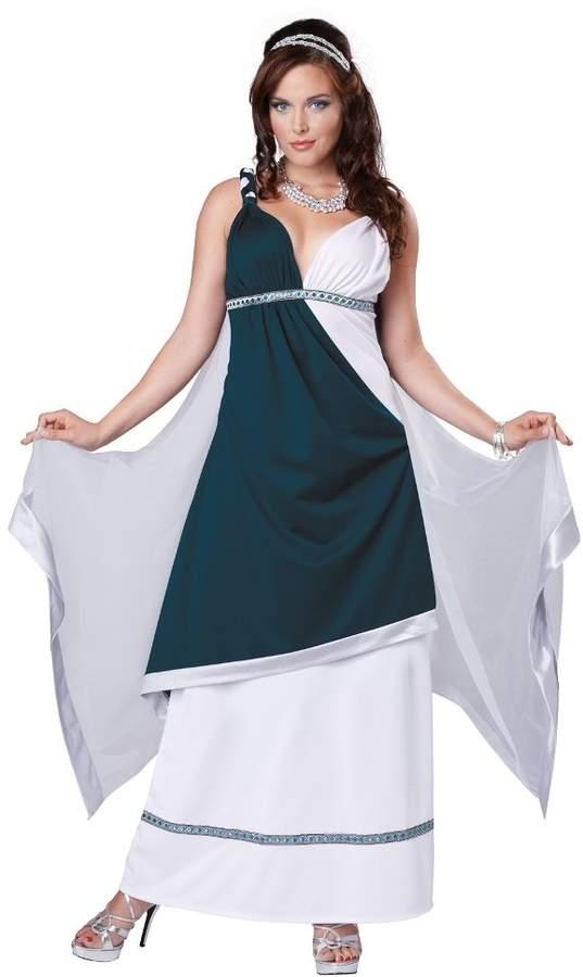 California Costumes Women's Roman Beauty Goddess Queen Long Dress