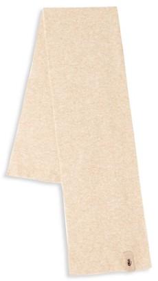 Roberto Cavalli Wool Blend Ribbed Scarf