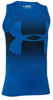 Under Armour Boy's Novelty Big Logo Tank
