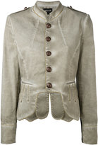 Just Cavalli military jacket - women - Cotton/Spandex/Elastane - 40