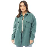 Thumbnail for your product : Brave Soul Womens Shacket Wasabi