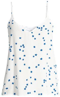 Equipment Layla Star Print Silk Camisole
