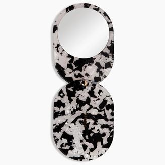 Poketo Pocket Mirror - Black Tortoise