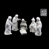 Graham and Green White Ceramic Mini Nativity