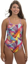 Dolfin Uglies Muse Print Double-Strap Back One-Piece Swimsuit