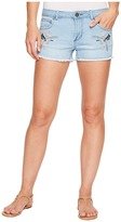 Romeo & Juliet Couture Bird Embroidered Shorts