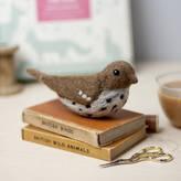 Hawthorn Handmade Song Thrush Needle Felting Craft Kit