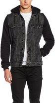 Urban Classics Hooded Denim Fleece Jacket L