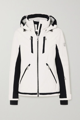 Toni Sailer Henni Hooded Two-tone Ski Jacket - White