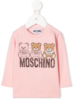 MOSCHINO BAMBINO graphic-print T-shirt