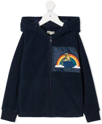 Kenzo Kids Tiger Rainbow Patch Hoodie