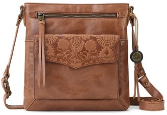 The Sak Ventura Flap Organization Leather Crossbody Bag