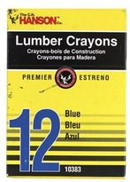 Hanson 10383 Lumber Crayon (Pack of 12)