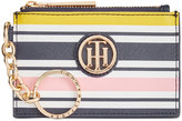 Tommy Hilfiger TH Serif Signature Printed Coin Purse With ID