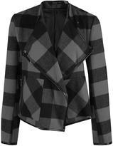 Dex Short Plaid Jacket