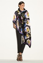 Milly Midnight Floral Scarf