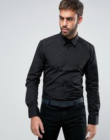 Hugo By Hugo Boss Elisha Stud Collar Shirt Slim Fit