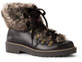 Lands' End Canvas Lands& End Canvas Faux Fur Trim Boot