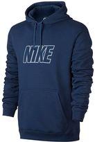 Nike Men's Fleece Logo Hoodie