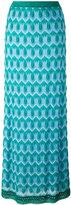 Missoni crochet knit maxi skirt - women - Silk/Polyester/Spandex/Elastane/Viscose - 42