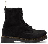 Dr. Martens Black Horse Hair 1460 Pascal Boots