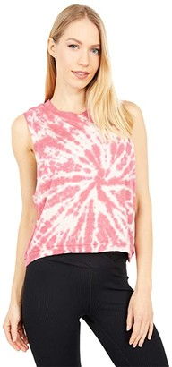 FP Movement Love Tank Top Tie-Dye (Pink) Women's Workout