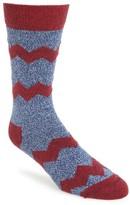 Happy Socks Men's Zigzag Socks