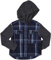 Diesel Ciapuk Check Yarn Dyed Plaid Shirt (Kid) - Indigo-4