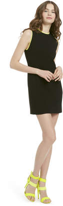 Alice + Olivia Colin Color Block Sleeveless Dress