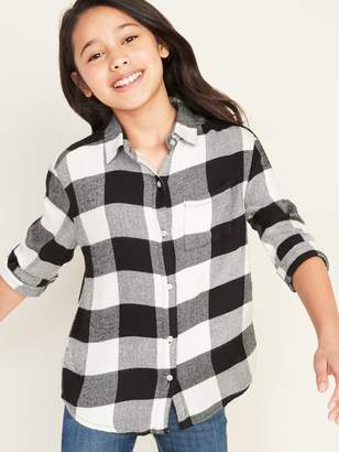 Old Navy Relaxed Button-Front Tunic for Girls