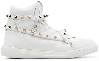 Valentino Garavani Rockstud hi-top sneakers