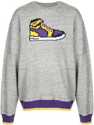 Mostly Heard Rarely Seen 8-Bit Yellow Sneak sweatshirt