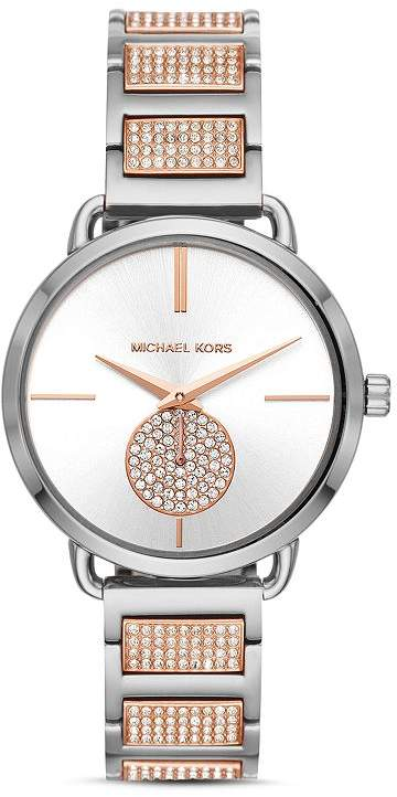 804dbb7b8376 Michael Kors Link Bracelet Watch - ShopStyle