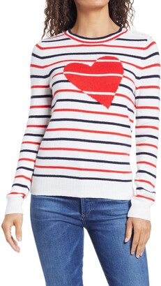 1901 Intarsia Stripe Crewneck Sweater