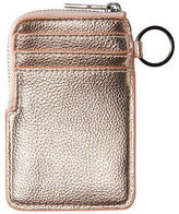 Aeropostale Womens Cape Juby Metallic Card Holder
