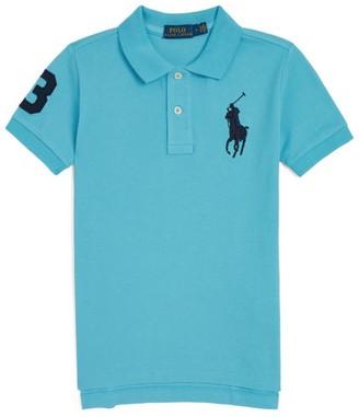 Ralph Lauren Kids Numbered Logo Polo Shirt (5-7 Years)