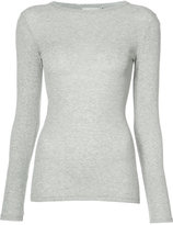 Vince fitted long sleeve T-shirt - women - Cotton - XS