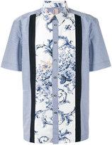 Antonio Marras floral checkered shirt - men - Cotton - 40