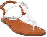 Ralph Lauren Gala Patent T-Strap Sandal