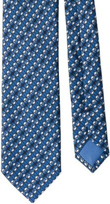 Prada Geometric Pattern Tie